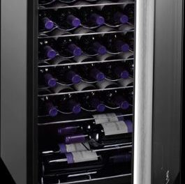 Medidas de Adega Climatizada Electrolux 34 Garrafas de Vinho – ACS34
