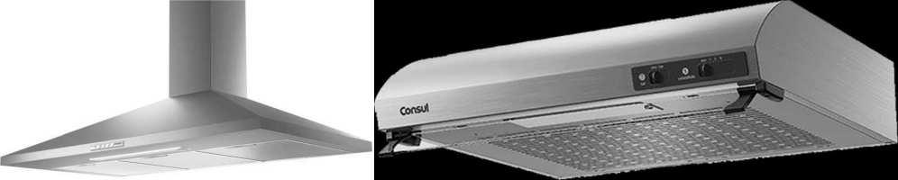 Medidas de Coifa e Depurador de Ar Consul