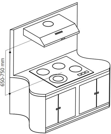 Instalação do depurador de ar Tramontina - distância depurador - fogão