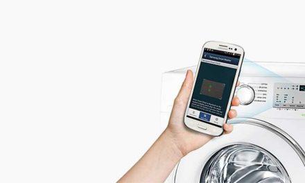 Medidas de Máquina de Lavar Roupas Porta Frontal Samsung 8,5 Kg