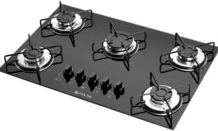 Medidas de Cooktop Atlas Agile 5 Queimadores Megachama