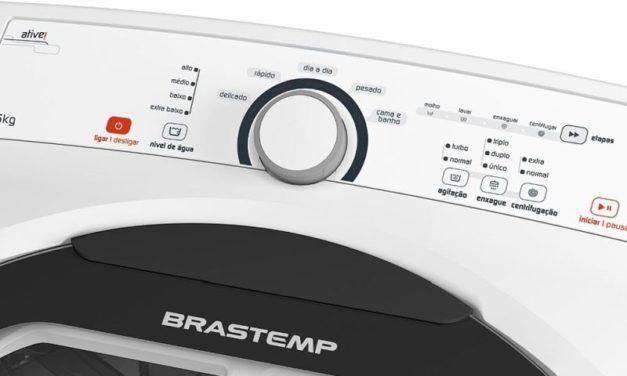 Manual de instruções da lavadora de roupas Brastemp 11,5Kg – BWG12