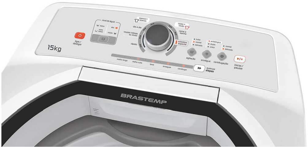 Como Limpar a Máquina de Lavar Brastemp 15 Kg - BWH15