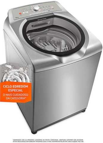 Lavadora de roupas Brastemp 15 kg - BWN15 - solução de problemas