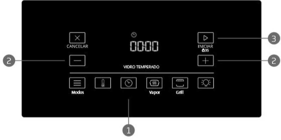Como ajustar o temporizador ou timer do fogão Brastemp BYS5C