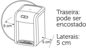 Instalação do purificador de água Consul