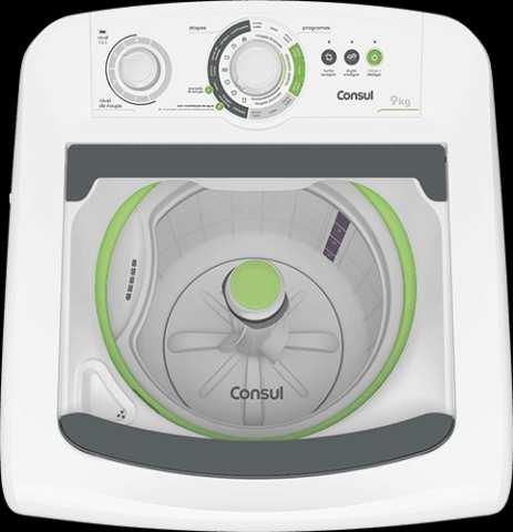 Lavadora de roupas Consul CWE09 - solução de problemas