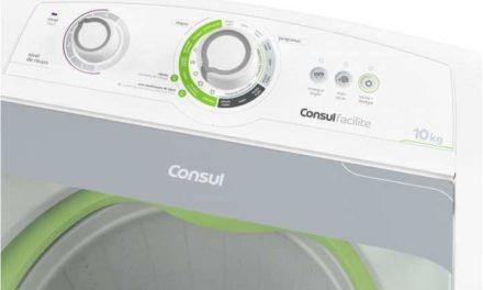 Manual de instruções da lavadora de roupas Consul 10Kg – CWE10