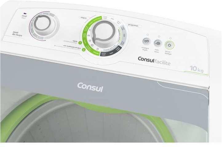 Lavadora de roupas Consul CWE10 - solução de problemas