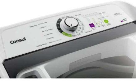 Manual de instrução da lavadora de roupas Consul 12Kg – CWS12