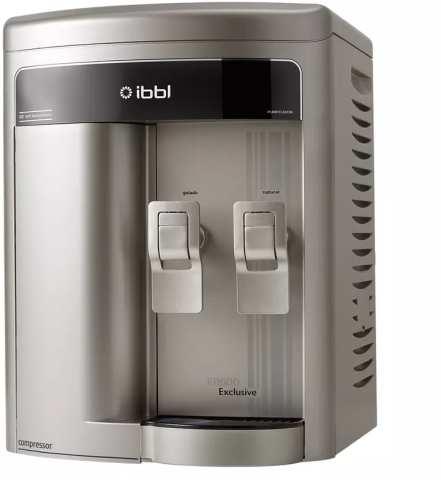 Medidas do Purificador de Água IBBL FR600 Exclusive Prata