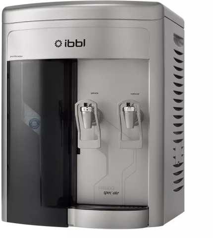 Solução de problemas do purificador de água IBBL Speciale Prata