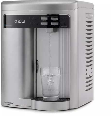 Medidas do Purificador de Água IBBL FRQ600 Expert prata