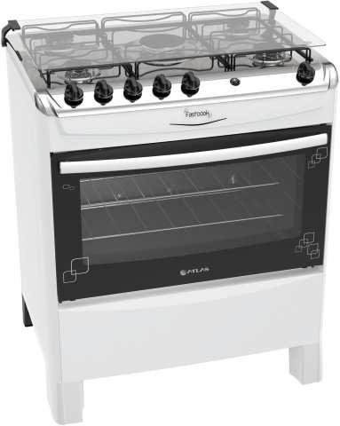 Instruções de segurança do fogão Atlas Fastcook
