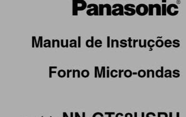 Manual Instruções Microondas Panasonic 30l Style Grill – GT68H – Parte 8