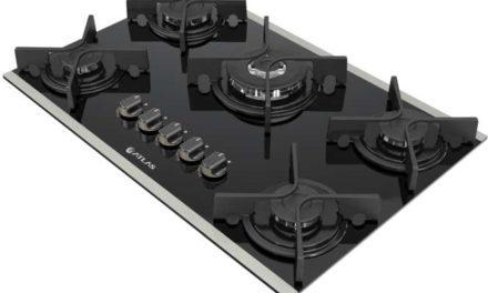 Medidas de Cooktop Atlas Glass 5 Queimadores Tripla Chama