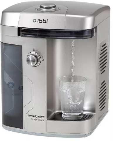 Medidas do Purificador de Água IBBL Immaginare Prata