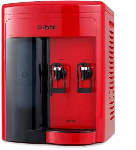 Manual do purificador de água IBBL Speciale Vermelho FR600
