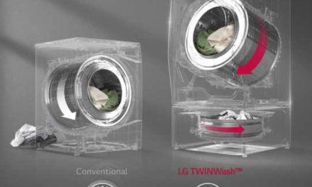 Medidas de Lava e Seca LG Lunar TwinWash Branco 11 e 2 Kg