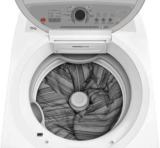 Lavadora de roupas Brastemp 15 kg - BWH15 - solução de problemas