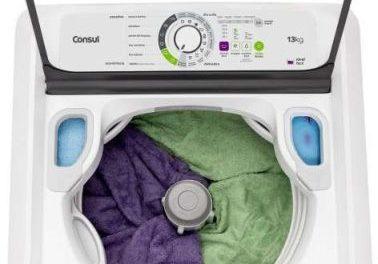 Manual de instruções da lavadora de roupas Consul 13Kg – CWE13