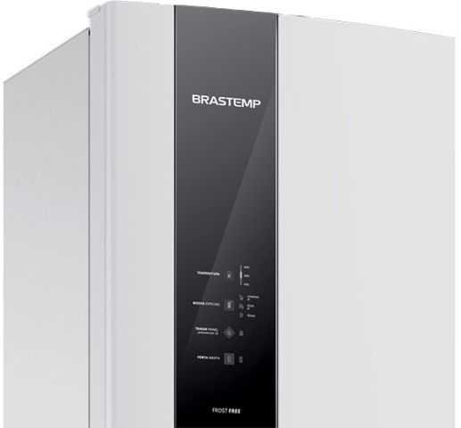 Manual de operação da geladeira Brastemp Duplex - BRM53