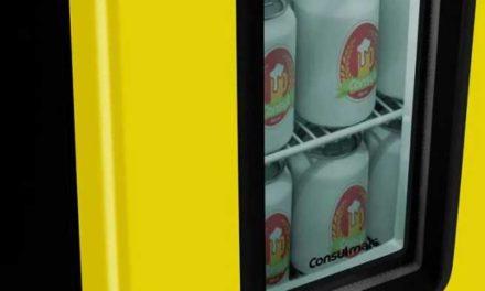 Dimensões da Cervejeira Consul Amarela – CZD12AY