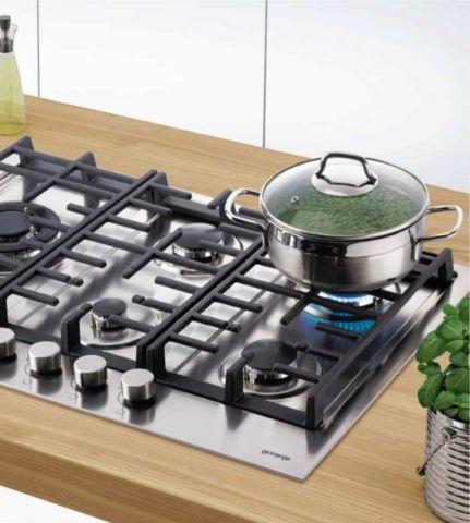 Medidas do cooktop Gorenje a Gás