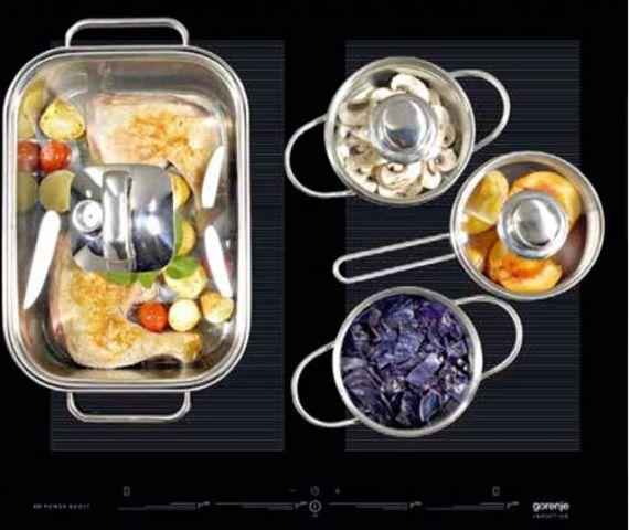Medidas do cooktop de indução Gorenje