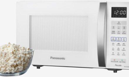 Como descongelar alimentos com microondas Panasonic 25L – NN-ST35H