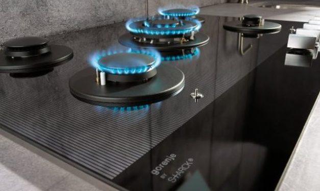 Medidas do Cooktop a Gás Gorenje Preto Cromado 5 bocas – GCW751ST