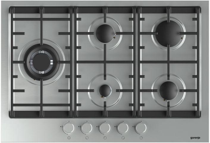 Medidas do cooktop Gorenje a Gás - 5 queimadores