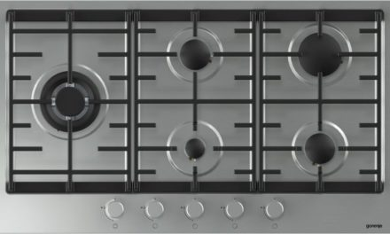 Medidas do Cooktop a Gás Gorenje Inox 5 bocas – GW961UX