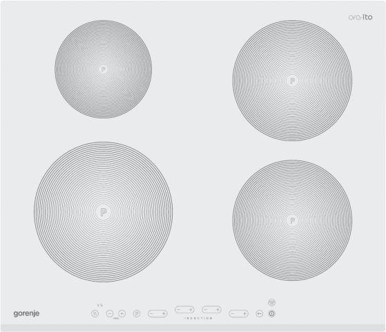 Medidas do cooktop de indução Gorenje 4 zonas de indução