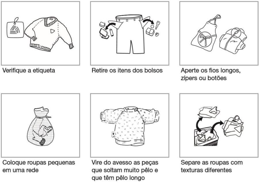 Medidas da Lava e Seca Panasonic - Dicas lavar e secar