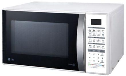 Manual de instruções do microondas LG 30 litros – MS3052