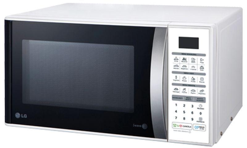 Manual de instruções de microondas LG 30 litros - MS3052