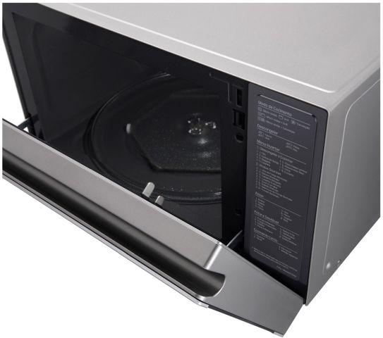 Manual de instruções forno com microondas LG 39L Convecção MJ3967