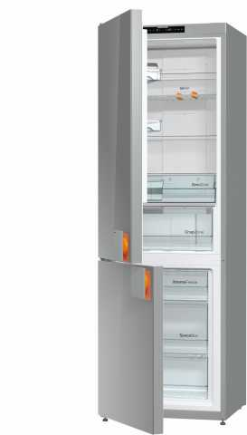 Dimensões da geladeira Gorenje Botton Freezer 307 litros
