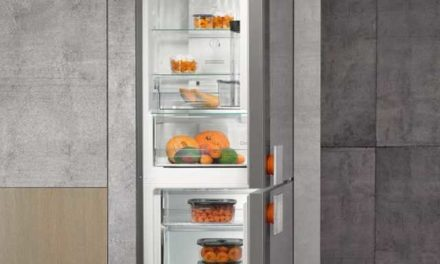 Medidas da Geladeira Gorenje Bottom Freezer 307L – NRK612ST-L