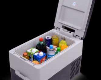 Medidas da mini geladeira portátil veicular Resfriar 31L – RES31GP
