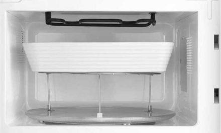 Como usar o grill do microondas Consul 30 litros Espelhado Cinza CMA30