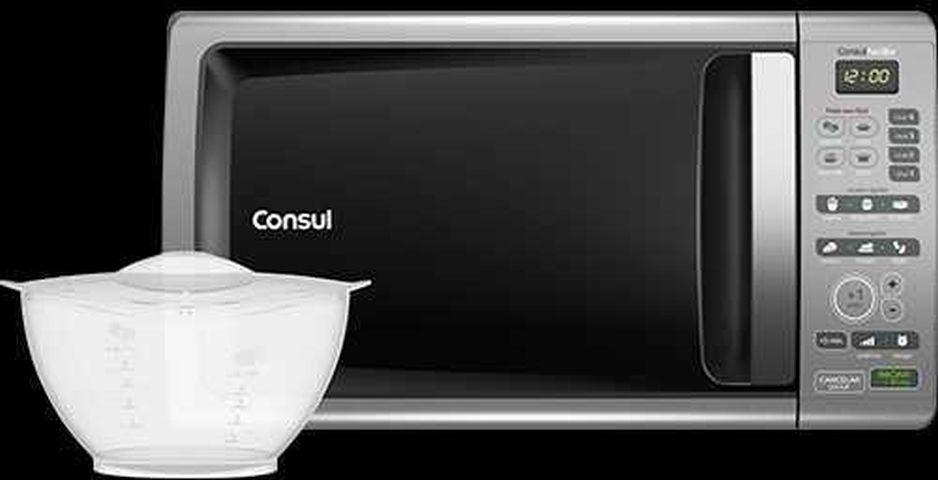 Como descongelar alimentos com microondas Consul