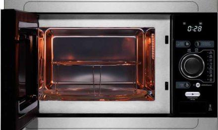 Como usar o grill do microondas Midea 25L de Embutir – MSAG3