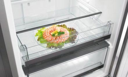 Medidas da Geladeira Gorenje Bottom Freezer 307L – NRKORA62E-L