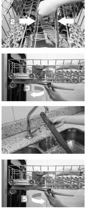 Limpeza da hélice intermediária lava louça brastemp