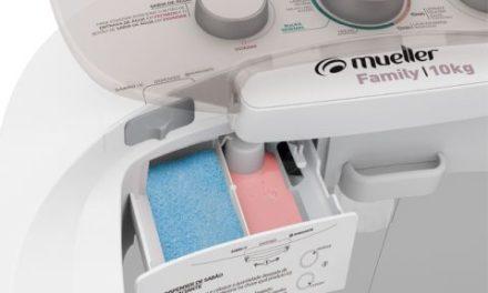 Medidas da Máquina de Lavar Roupas Mueller Family 10Kg Branco