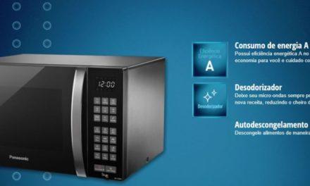 Como descongelar alimentos com microondas da marca Panasonic