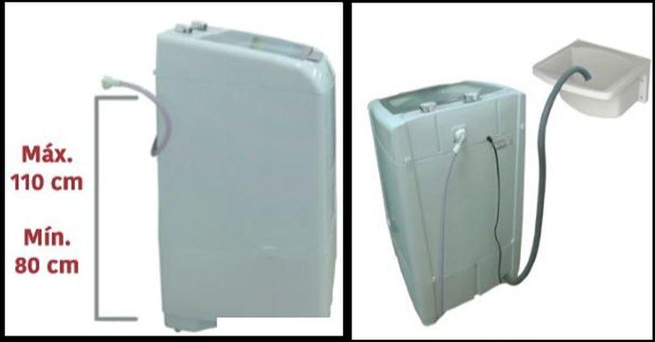 Maquina de lavar roupas Mueller - Instalação