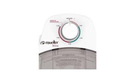 Medidas da Centrífuga de Roupas Mueller Nina 2,9 kg cor Branca